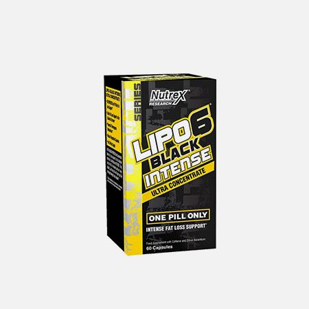Lipo 6 Black Intense Ultra Concentrate – 60 cápsulas – Nutrex Research