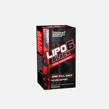 Lipo 6 Black Ultra Concentrate – 60 cápsulas – Nutrex Research