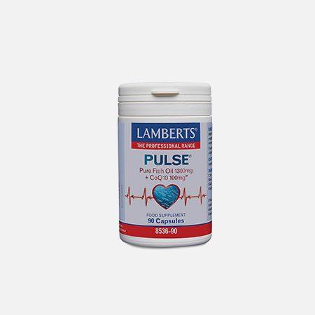 Pulse (Ómega-3 E CoQ10) – 90 cápsulas – Lamberts