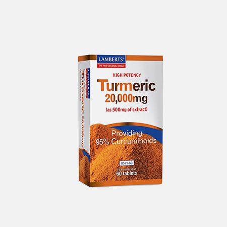 Turmeric 20000 mg – 60 comprimidos – Lamberts