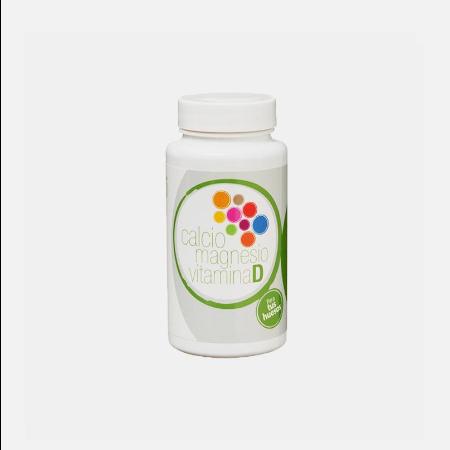 Cálcio, Magnésio e Vitamina D – 60 cápsulas – Plantis