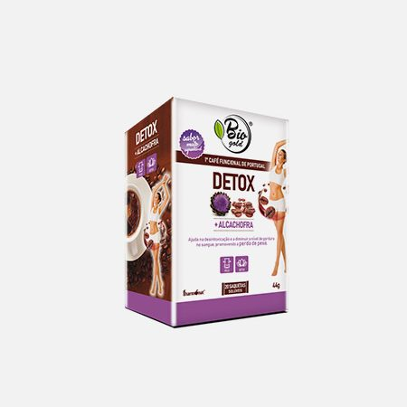Bio Gold DETOX café funcional – 20 saquetas – Fharmonat