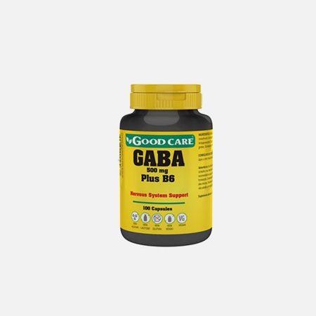 Gaba 500 mg plus B6 – 100 cápsulas – Good Care