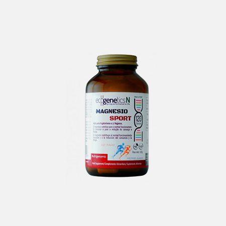 Magnésio SPORT – 120 cápsulas – EcoGenetics