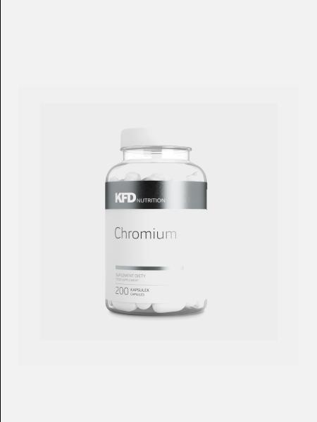 Chromium - 200 cápsulas - KFD Nutrition