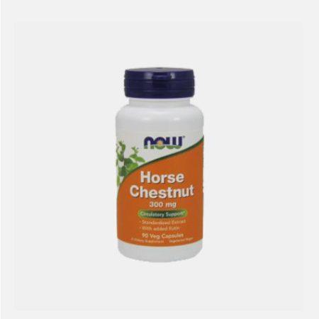 Horse Chestnut Castanha Da Índia 300mg – 90 cápsulas – Now