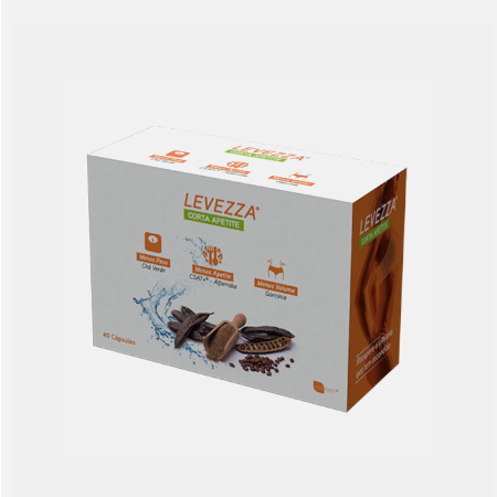 Levezza Corta Apetite – 40 cápsulas – Nutridil
