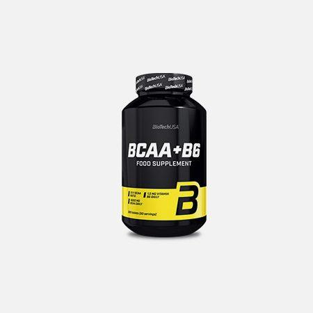 BCAA + B6 – 200 comprimidos – BioTech USA