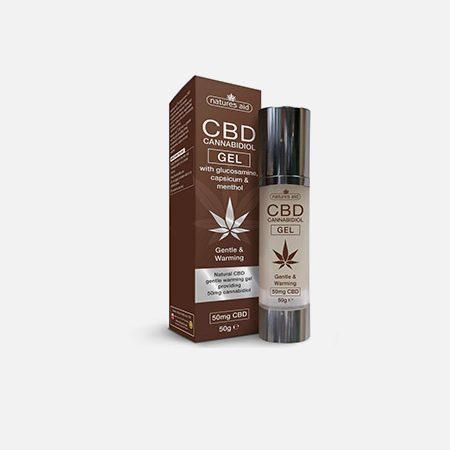 Cbd Cannabidiol Gel – 50g – Natures Aid