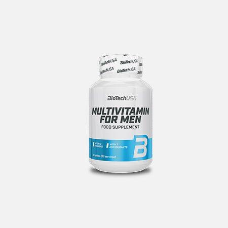Multivitamin for Men – 60 comprimidos – BioTech USA