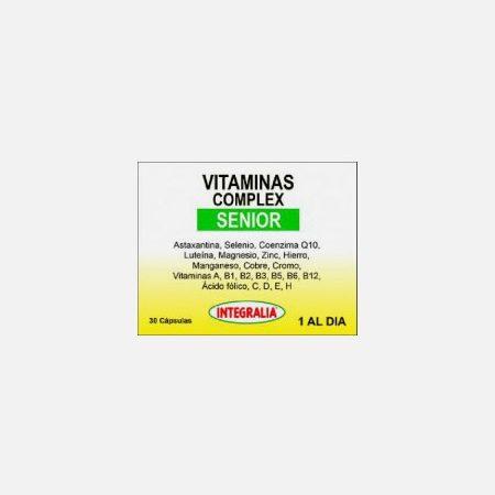 Vitaminas Complex Senior – 30 cápsulas – Integralia