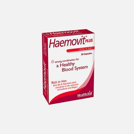 Haemovit – 30 cápsulas- HealthAid