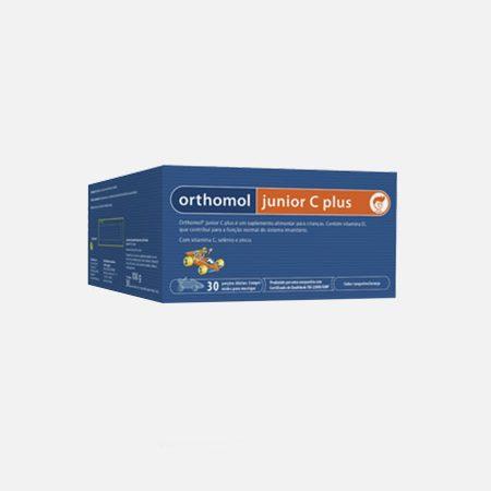 Orthomol junior C Plus sabor tangerina/laranja – 30 porções – Orthomol