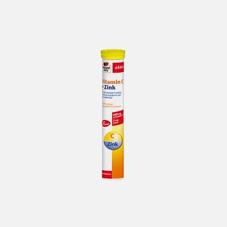 Vitamina C + Zinco – 15 comprimidos efervescentes – Doppelherz