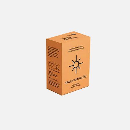 Hawa vitamina D3 4000ui – 60 cápsulas – 2M-Pharma