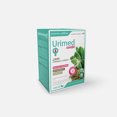 Urimed Candid – 30 cápsulas – Dietmed