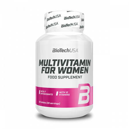Multivitamin for Women – 60 comprimidos – BioTech USA
