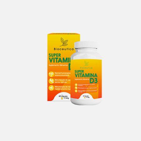 Super Vitamina D3 4000 UI – 60 cápsulas – Bioceutica