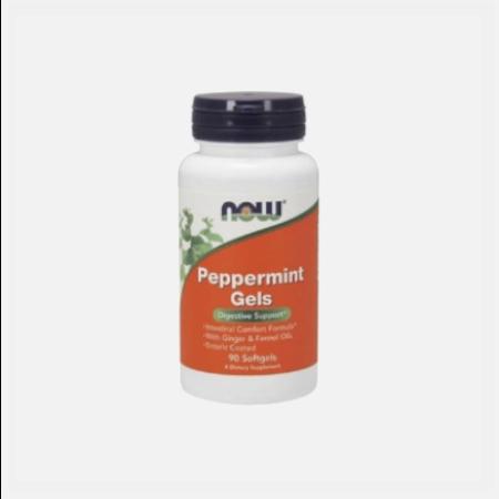 Peppermint Gels – 90 Cápsulas – Now