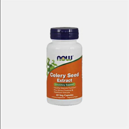 Celery Seed Extract – 60 Cápsulas – Now