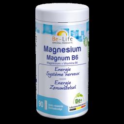 Magnesium Magnum B6 – 90 cápsulas – Be-Life