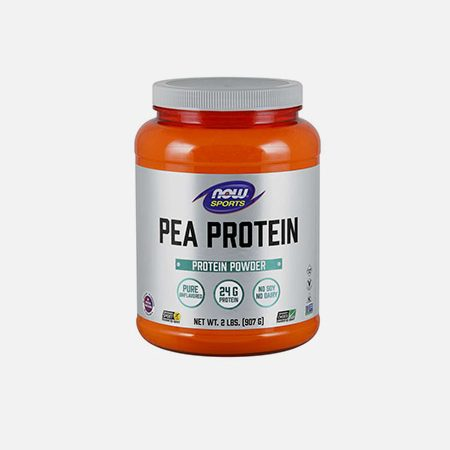 Pea Protein Pure Unflavored Powder – 907g – Now