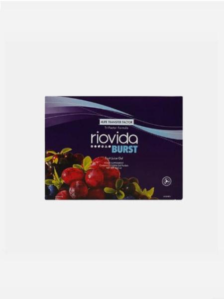 Riovida Burst Tri-factor Formula - 15x30ml - 4life