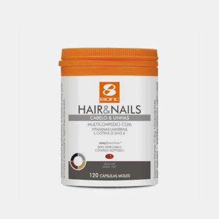 Hair & Nails – 120 Cápsulas – Biofil