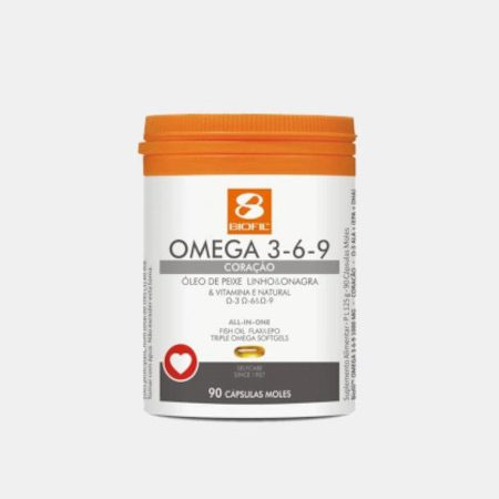 Omega 3-6-9 – 90 cápsulas – Biofil