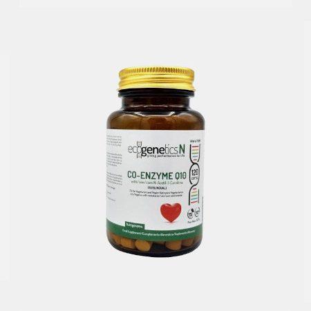 CoQ10 10mg – 120 Comprimidos – Ecogenetics