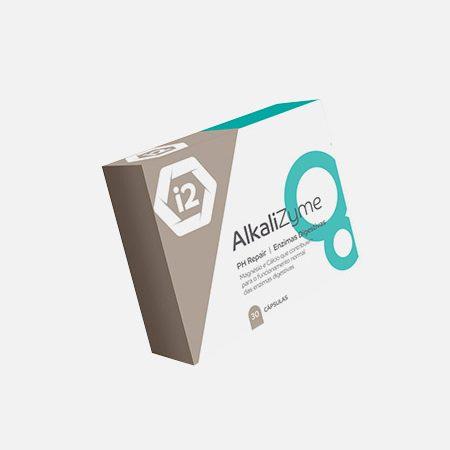 AlkaliZyme – 30 cápsulas – I2Nutri