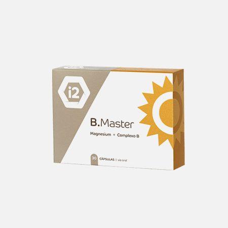 B.Master Magnésio + Complexo B – 30 cápsulas – I2Nutri