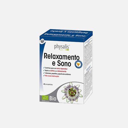 Physalis Relaxamento e Sono – 45 comprimidos – Bioceutica