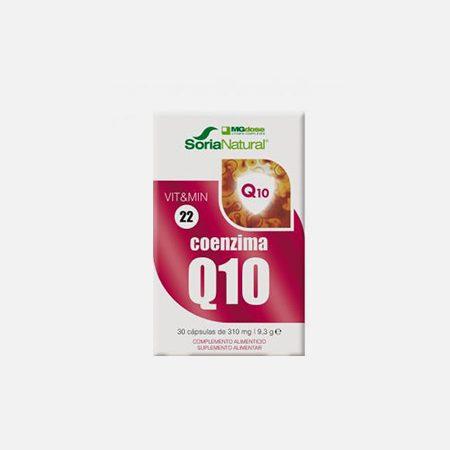 VIT&MIN 22 COENZIMA Q10 – 30 cápsulas – Soria Natural