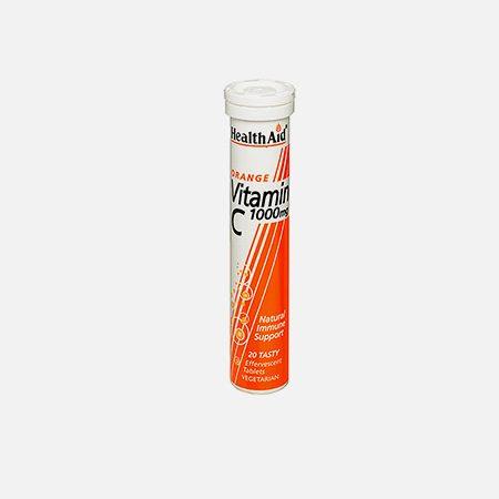 Vitamina C 1000mg – 20 comp. efervescentes – HealthAid