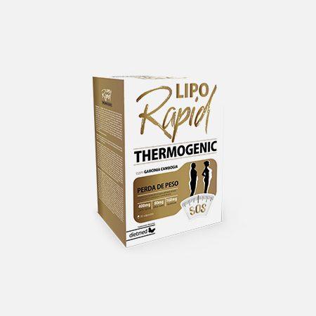 LIPORAPID THERMOGENIC – 30 cápsulas – Dietmed