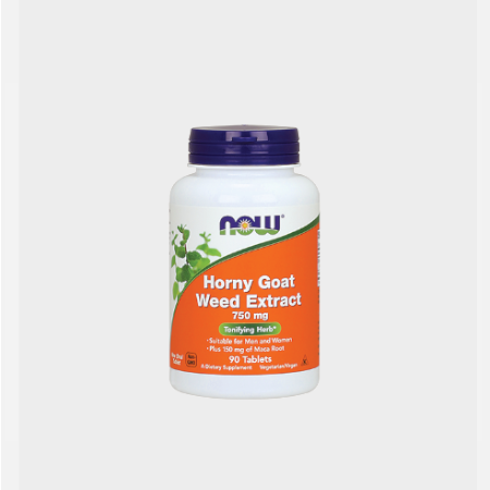 Horny Goat Weed Extract – 90 comprimidos – Now