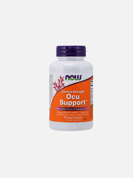 Ocu Support Clinical Strength - 90 cápsulas - Now