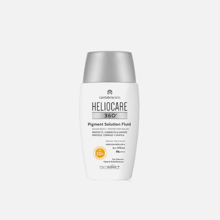 Heliocare 360º Pigment Solution Fluid SPF 50+ – 50ml – Cantabria Labs