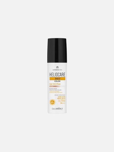 Heliocare 360º Color  Gel Oil-Free SPF 50+ (Bronze) - 50ml - Cantabria Labs