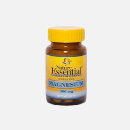 Magnésio Quelado 300mg – 50 cápsulas – Nature Essential