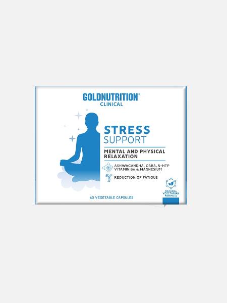 Stress Support - 60 cápsulas - Gold Nutrition