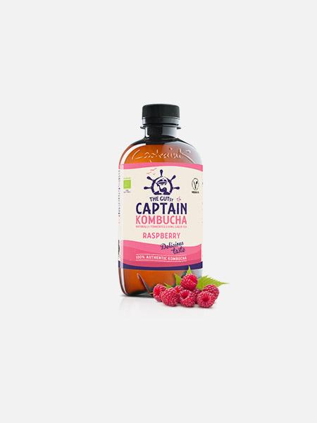 Captain Kombucha Bio Framboesa - 400 ml - THE GUTsy CAPTAIN
