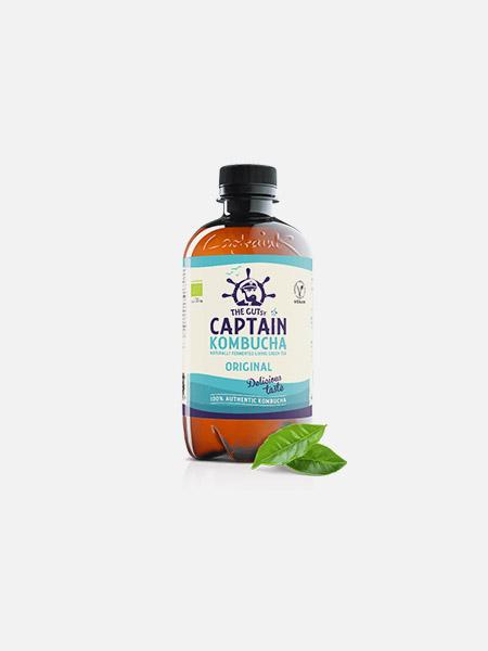 Captain Kombucha Bio Original - 400 ml - THE GUTsy CAPTAIN
