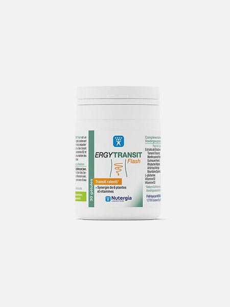 ERGYTRANSIT Flash - 30 cápsulas - Nutergia