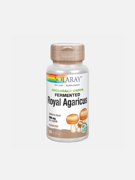 Royal Agaricus - 60 cápsulas - Solaray