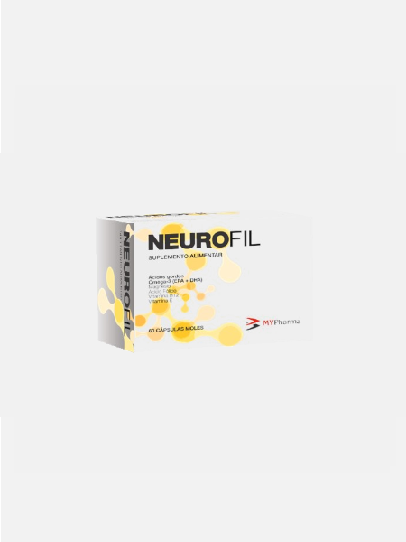 NeuroFil - 60 cápsulas moles - MyPharma