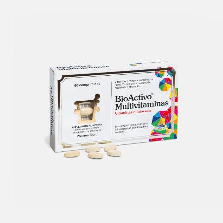 BioActivo Multivitaminas – 60 comprimidos – Pharma Nord
