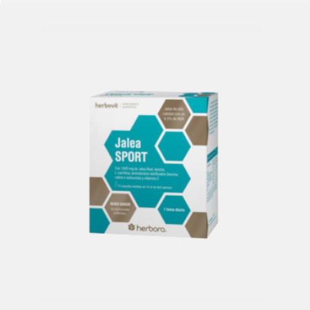 JALEA SPORT – 15 ampolas – Herbora