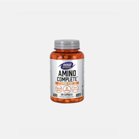 Amino Complete – 120 cápsulas – Now